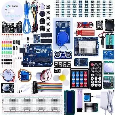 Elegoo Progetto Arduino Scheda UNO R3 Starter Ultimate Kit Piu Completo per P...