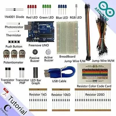 Freenove Basic Starter Kit for Arduino | Beginner Learning | Uno R3 Mega Nano...