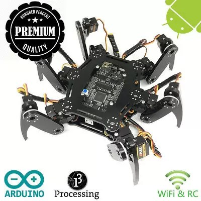 Freenove Hexapod Robot Kit | Arduino Based Project | Raspberry Pi | Spider...
