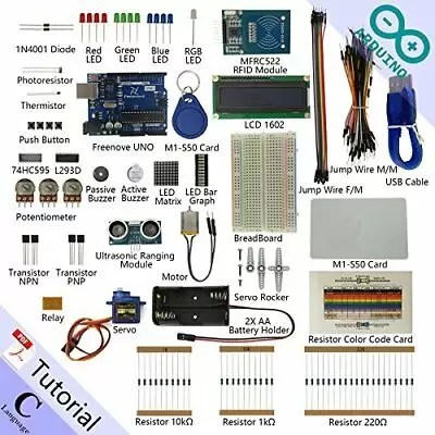 Freenove RFID Starter Kit for Arduino | Beginner Learning | Uno R3 Mega