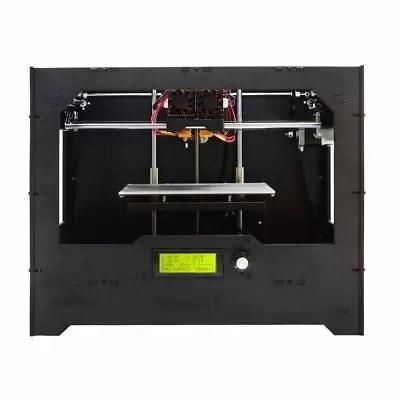 Geeetech D5 Professional LCD Display Doppio ugello Stampante DIY 3D Kit