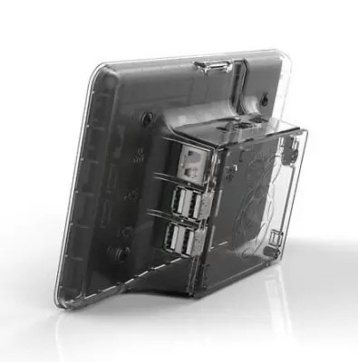 Raspberry Pi LCD Touchscreen Case [clear] (6WF)