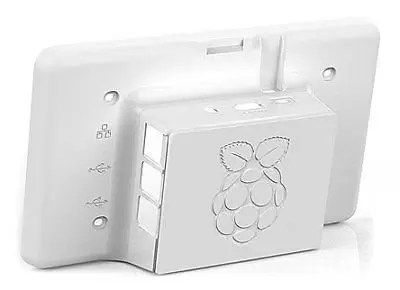 Raspberry Pi LCD Touchscreen Case [white] (XR3)