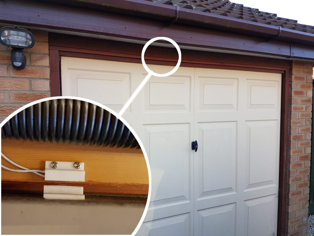 Raspberry Pi Magnetic Door Sensor Wiring