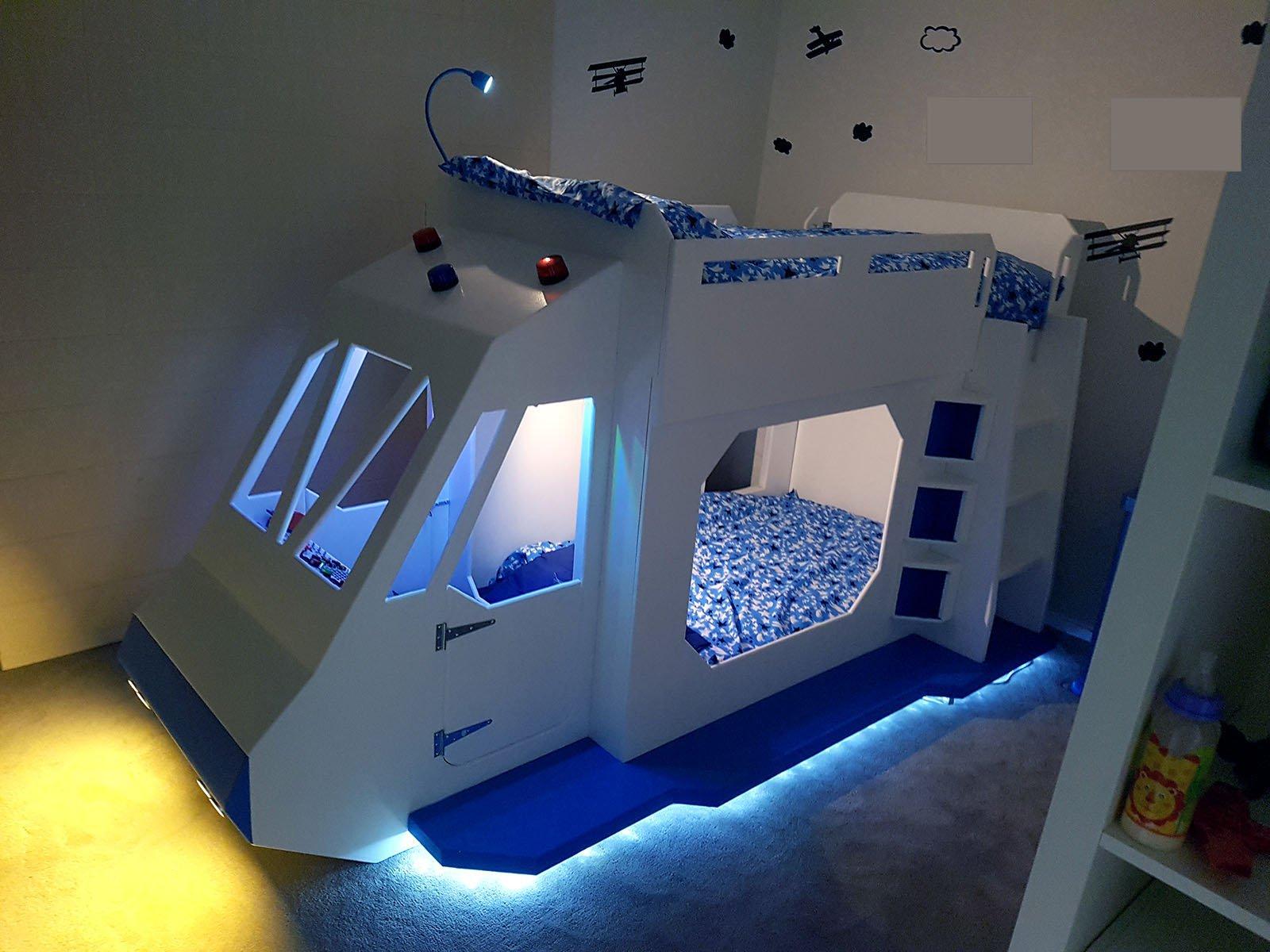 5 4 3 2 1 Spaceship Bunk Bed Raspberry Pi