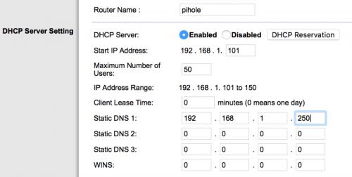Using Pi-hole on a Raspberry Pi