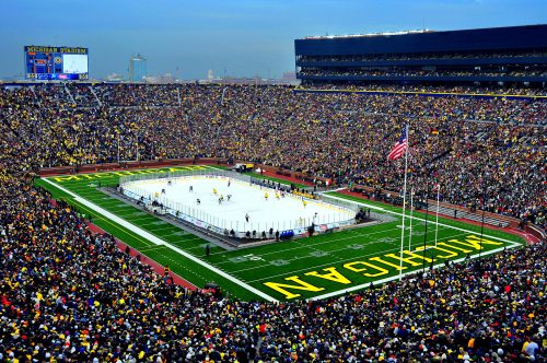 The Big House stadium in Michigan