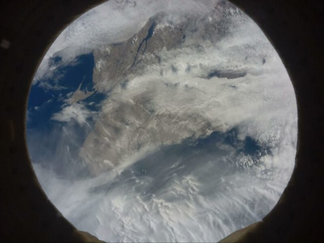 Newfoundland and Labrador shown from space by an Astro Pi computer on the International Space Station