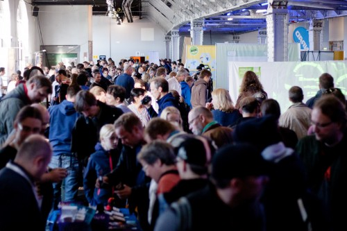 Crowd at Maker Faire Berlin 2015