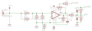 ADC Input Circuit of RaspiScope
