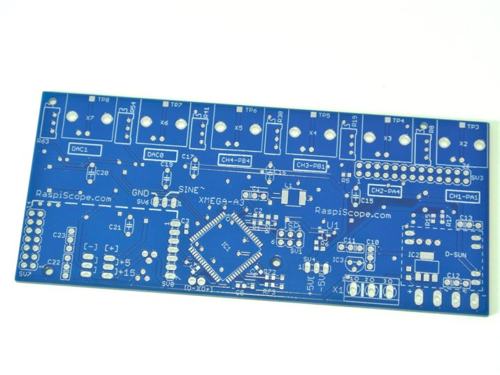 RaspiScope PCB