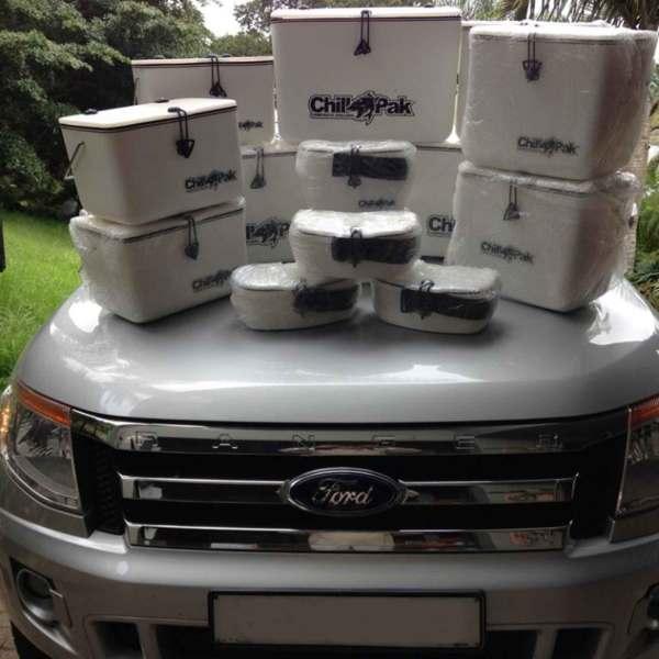 Ford sponsored Chillpaks
