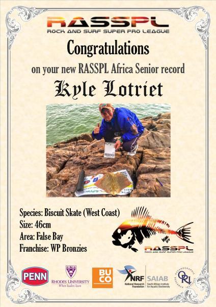 New Senior Record