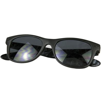 Cryptic Leaf Sunglasses Black
