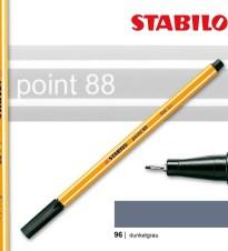 OLOVKA LINER STABILO POINT 88/96 SREBRO