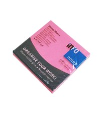 POST-IT INFO 75X75 NEON PINK 5654-32