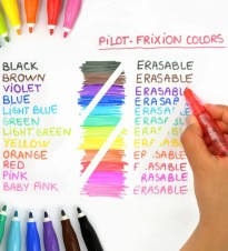 FLOMASTERI FRIXION COLORS SET 1/6