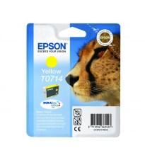 KERTRIDZ EPSON T0714 YELLOW.