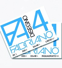 BLOK LISTOVA 33x48 220gr 20/1 GLATKI FABRIANO