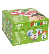 PUZZLE PROFESIONS AND ITS TOOLS APLI