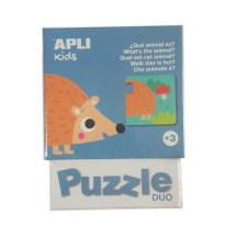 "IGRA PUZZLE DUO WHAT""s THE ANIMAL? APLI KIDS 17425"