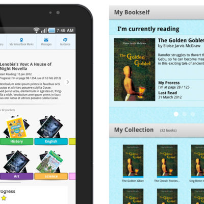 eBook app for kids on Android