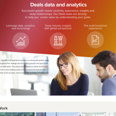 Financial - Deals and analytics