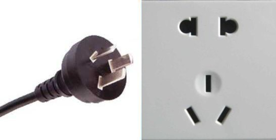 I, plus sockets for A, C and I (China)
