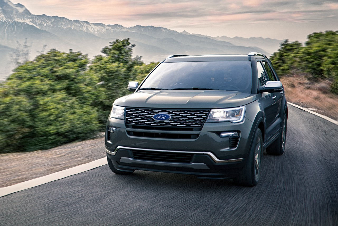 1 3m ford explorers