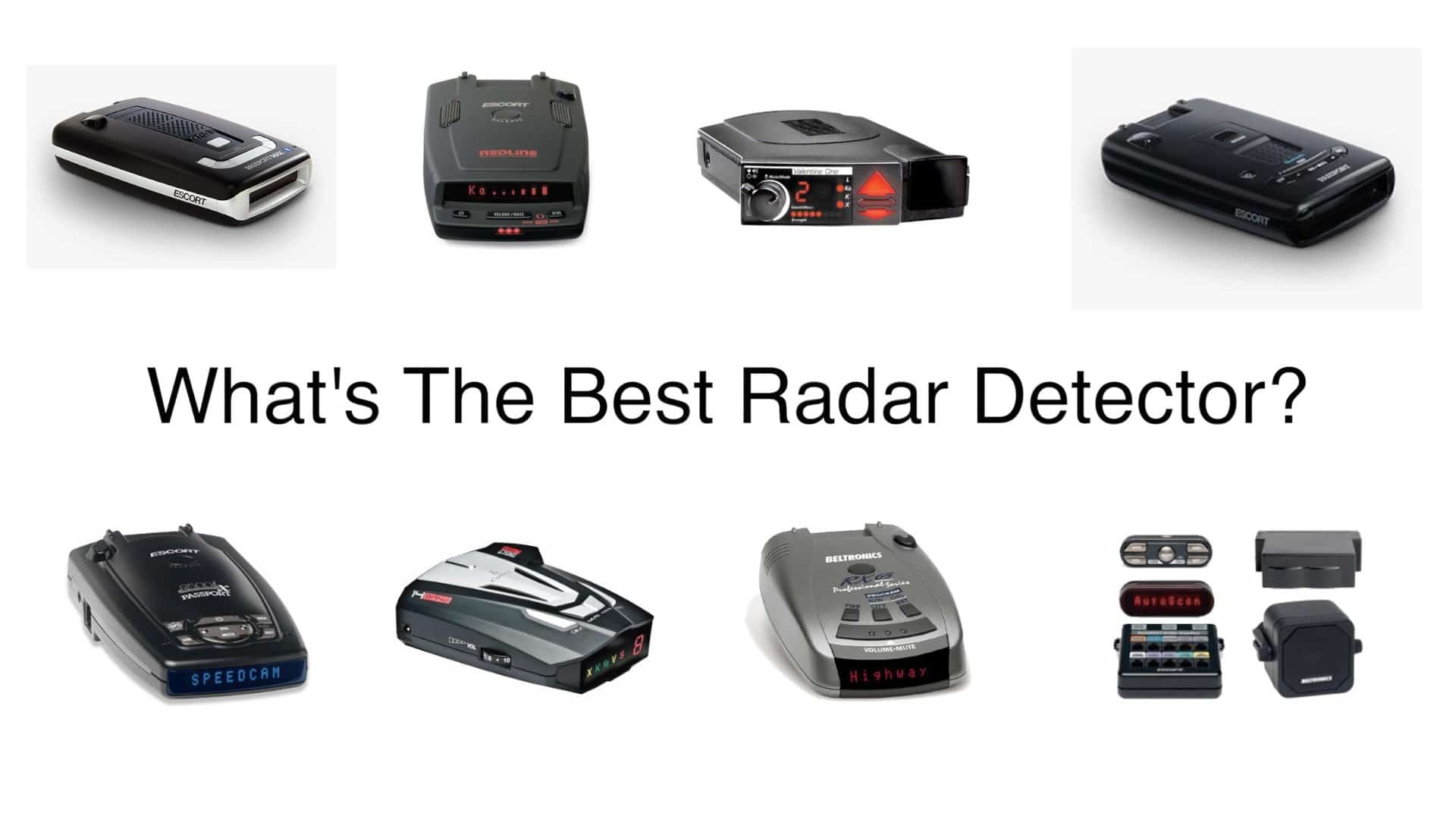What Is The Best Radar Detector For 2018