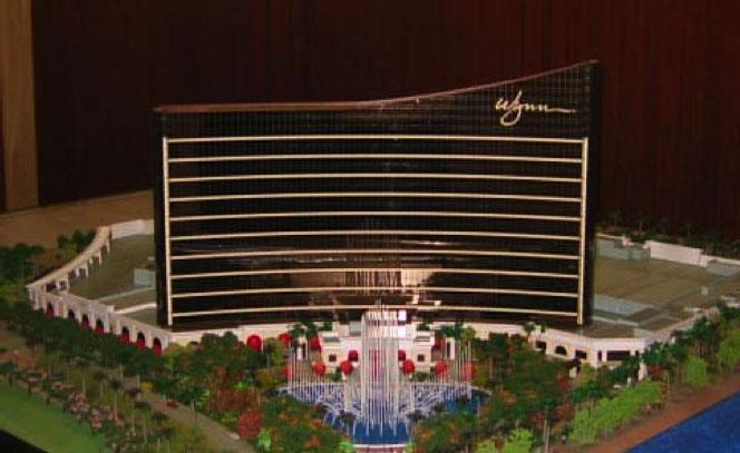 Wynn Macau Taking Shape  Two Way Hard Three  Las Vegas