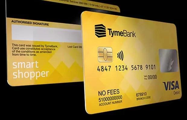 Tyme bank debit card