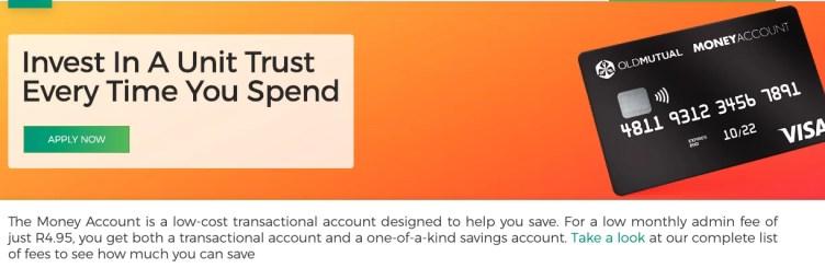 Old Mutual Money Account Summary