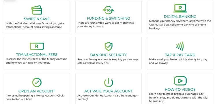 How old mutual money account works?