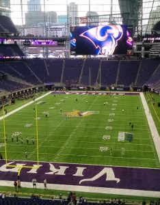 At us bank stadium you won   find the dedicated kids areas or family themed attractions that might elsewhere but there are  number of which also minnesota vikings seating guide  rateyourseats rh