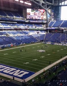 Best seats for great views of the field at lucas oil stadium also rh rateyourseats