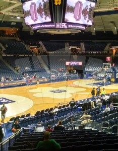 Where is section row seats also notre dame basketball joyce center seating chart rateyourseats rh