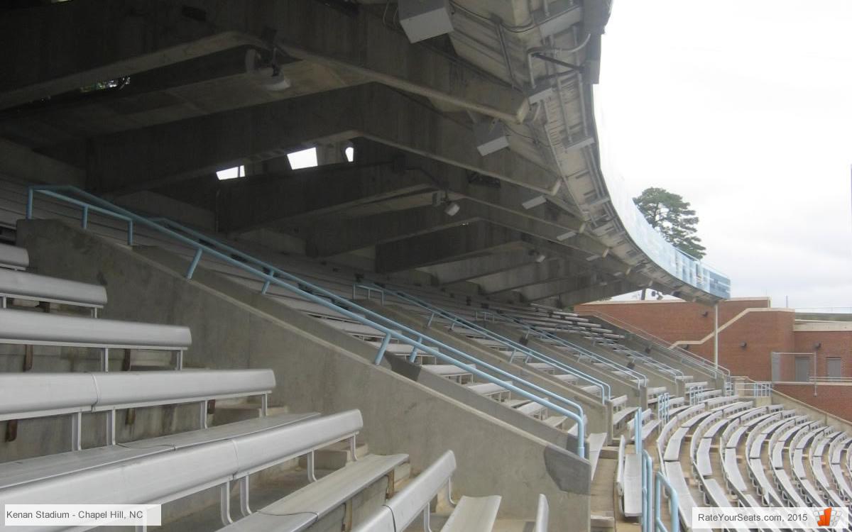 North Carolina Football Kenan Memorial Stadium Seating