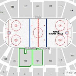 Wheelchair Hockey Difference Between Shower Chair And Tub Transfer Bench Los Angeles Kings Staples Center Seating Chart - Rateyourseats.com