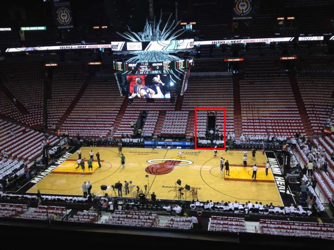 miami heat americanairlines arena seating chart rateyourseats com