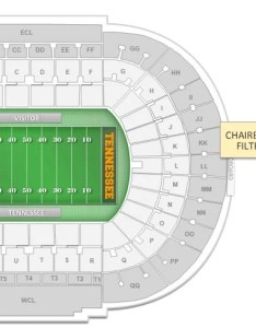 Neyland stadium interactive seating chart after selecting the filter map will update to only show tickets which have chairback also do any of seats at backs their rh rateyourseats