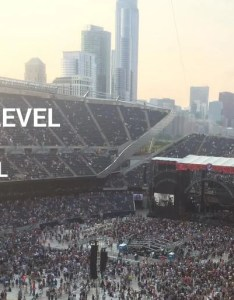 Are the  sections good for  concert at soldier field also seating chart  interactive map rh rateyourseats