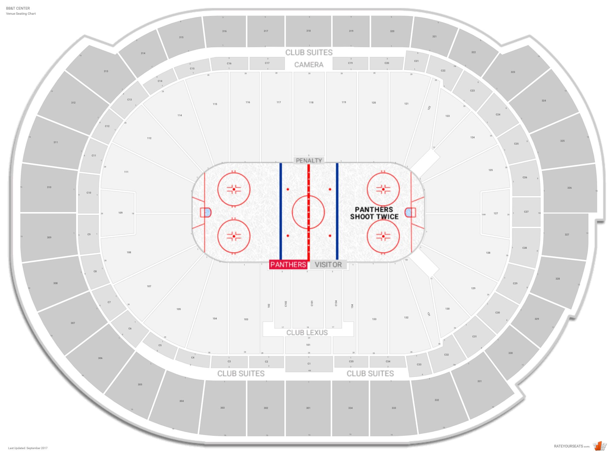 hight resolution of bb t center seating chart with row numbers