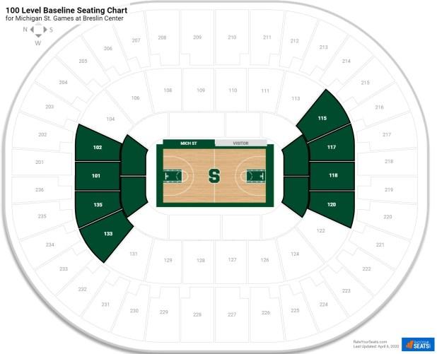 Breslin Center Seating Brokeasshome Com
