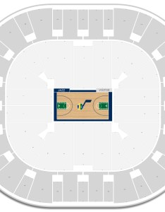 Vivint smart home arena seating chart with row numbers also utah jazz guide rateyourseats rh