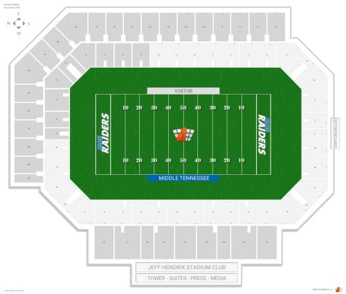 small resolution of floyd stadium seating chart with row numbers