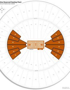 Frank erwin center arena level baseline seating chart also texas guide rateyourseats rh