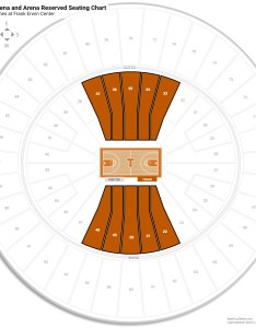 Frank erwin center arena level seating chart also texas guide rateyourseats rh