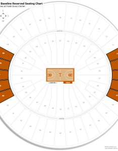 Frank erwin center mezzanine baseline reserved seating chart also texas guide rateyourseats rh