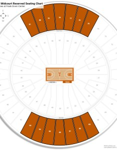 Frank erwin center mezzanine midcourt reserved seating chart also texas guide rateyourseats rh